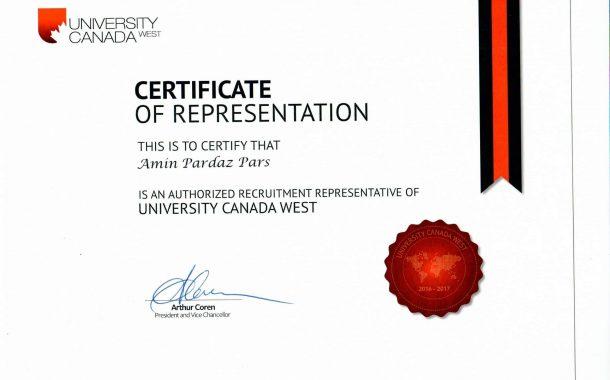 نمایندگی CWU Canada West University